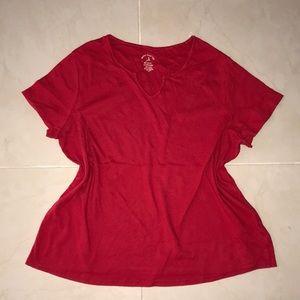 🐚3/$15 White Stag T- shirt Sz. 2X